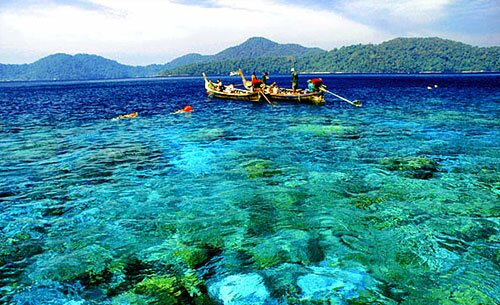 ดำน้ำเกาะช้าง เกาะหวาย เกาะรัง
