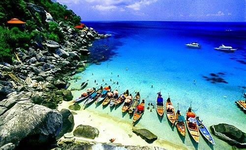 ชายหาด เกาะเต่า