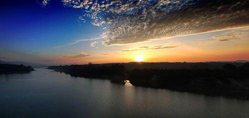 พระอาทิตย์ขึ้น โขงเจียม อุบลราชธานี