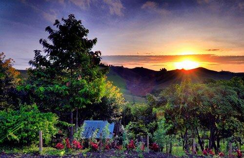 พระอาทิตย์ขึ้น อุทยานแห่งชาติเขาค้อ