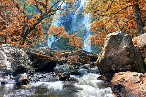 น้ำตกคลองลาน อุทยานแห่งชาติคลองลาน