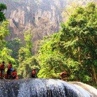 เดินป่า ฝ่าสายน้ำ อุทยานแห่งชาติลำคลองงู