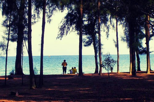 หน้าหาด อุทยานแห่งชาติหาดวนกร