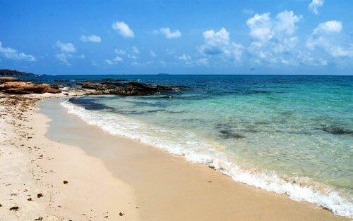 หาดทราย อุทยานแห่งชาติเขาแหลมหญ้า หมู่เกาะเสม็ด