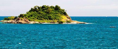 เกาะกลางทะเล อุทยานแห่งชาติเขาแหลมหญ้า หมู่เกาะเสม็ด
