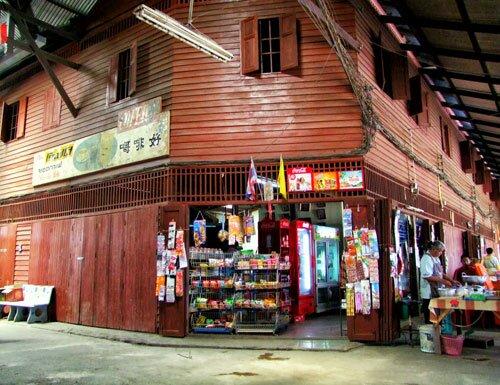 ร้านขายของชำ ตลาดโบราณนครเนื่องเขต