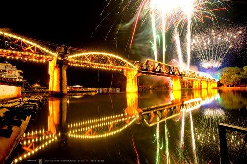 งานสัปดาห์สะพานข้ามแม่น้ำแคว งานกาชาดกาญจนบุรี