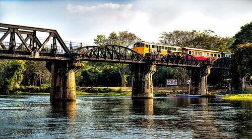 สะพานข้ามแม่น้ำแคว ใน งานสัปดาห์สะพานข้ามแม่น้ำแคว