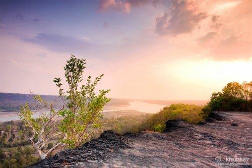 ป่าดงนาทาม อุทยานแห่งชาติผาแต้ม