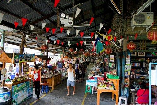 ร้านค้า ตลาดคลองสวน 100 ปี