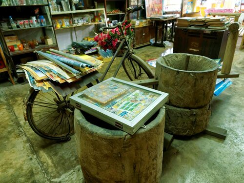 จักรยาน ของเก่า ตลาดคลองสวน 100 ปี