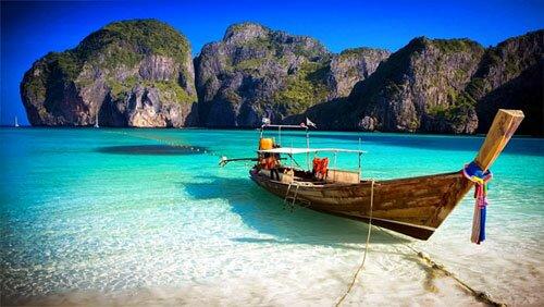เกาะพีพี ทะเลแหวก หาดไร่เลย์ กระบี่ ท่องเที่ยว แผนที่การเดินทาง